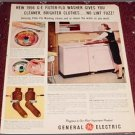 1956 GE Washer Dryer ad