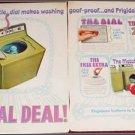 Frigidaire Washer & Dryer ad