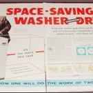 1956 Easy Washer Dryer ad with Arthur Godfrey