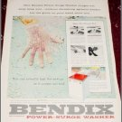 1956 Bendix Power Surge Washer ad