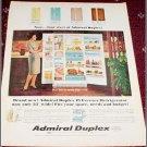 Admiral Duplex Refrigerator ad
