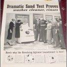 1957 Westinghouse Laundromat ad