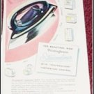 1948 Westinghouse Streamliner Iron ad
