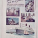 1952 American Presidents Line ad