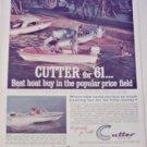 1961 Cutter Boat ad #2