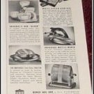 1940 Universal Appliances ad