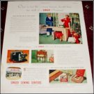 1951 Singer Sewing Center ad #1