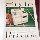 Perfection Electric Range ad