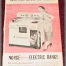 Norge Electric Range ad