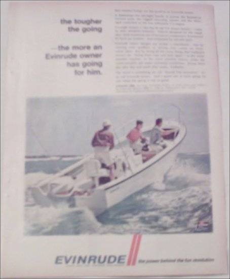 1968 Evinrude 85 HP V-4 Motor ad