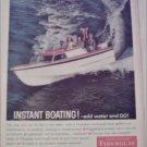 1960 Fiberglas Boat ad
