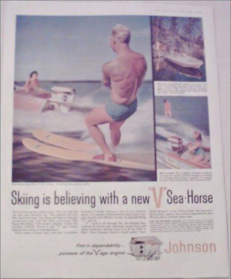 1958 Johnson Sea-Horse ad