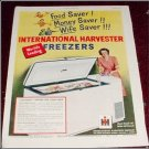 1951 IH Freezer ad