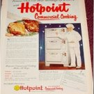 1952 Hotpoint Comercial Oven ad