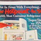 1950 Hotpoint refrigerator ad