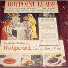 1948 Hotpoint electric range ad
