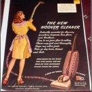 1945 Hoover vacum cleaner ad