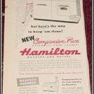 Hamilton washer & dryer ad