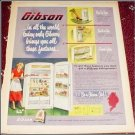 1951 Gibson Refrigerator ad