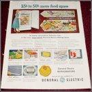 1951 GE LF 10 Refrigerator ad