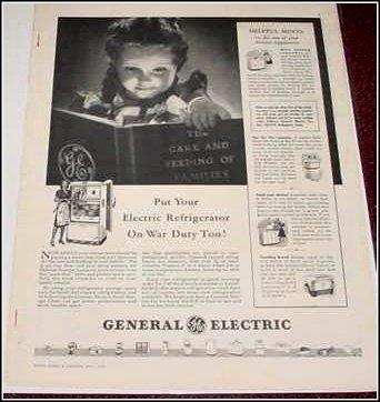 1942 GE War Duty ad