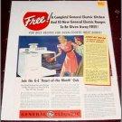 1940 GE Electric Range ad #2