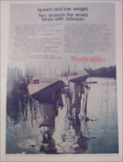 1972 Johnson Sea-Horse 9 1/2 & 6 Motor ad
