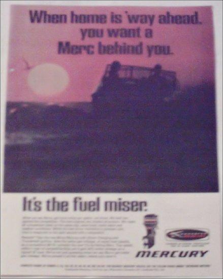 1968 Mercury Fuel Miser ad