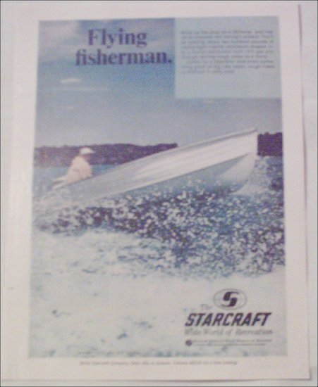 1968 Starcraft Seafarer Boat ad