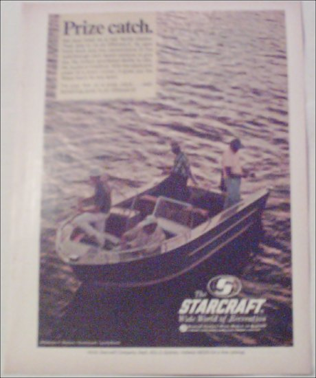 1968 Starcraft Sportabout Boat ad