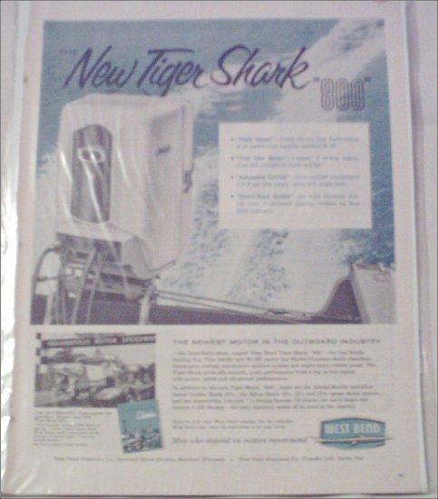 West Bend Tiger Shark 800 Motor ad