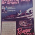 Ranger Comanches Boat ad