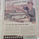 1942 Greyhound Bus Lines ad