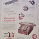 1952 Burroughs Sensimatic Accounting Machine ad #2