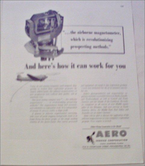 1949 Aero Corporation ad