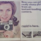 1965 Agfa Isoflash-Rapid Camera ad