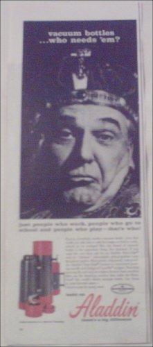 1963 Aladdin Thermos ad