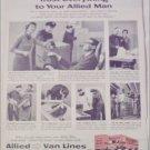 1960 Allied Van Lines ad