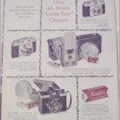 1956 Ansco Cameras Christmas ad