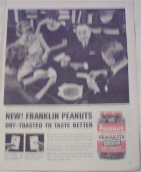 1962 Franklin Peanuts ad