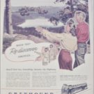 1945 Greyhound Bus Lines ad