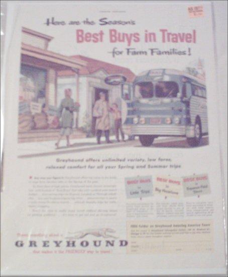 1952 Greyhound Bus Lines ad #1