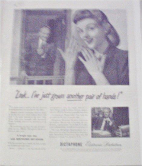 Dictaphone Dictation Machine ad