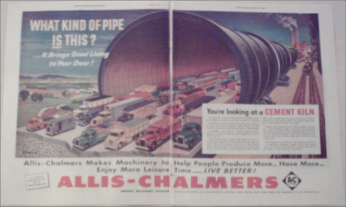 1952 Allis-Chalmers ad