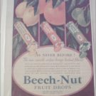 1931 Beech-Nut Fruit Drops As Never Before ad