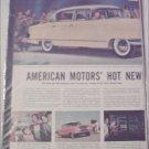 1955 American Motors Nash Ambassador CC 4 dr sedan car ad