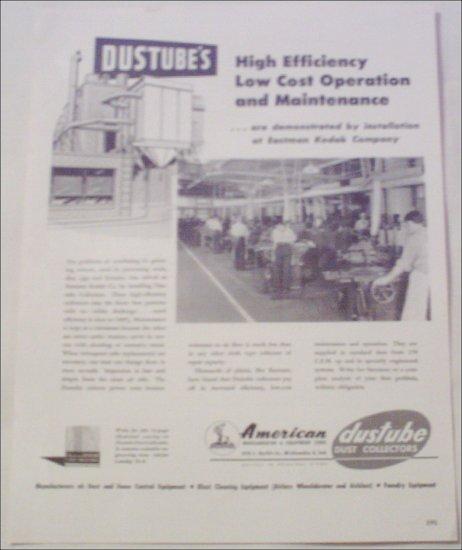 American Dustubes Corp ad