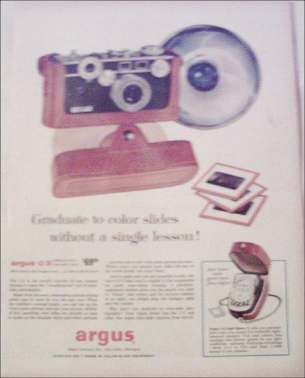 Argus C-3 35mm Camera ad