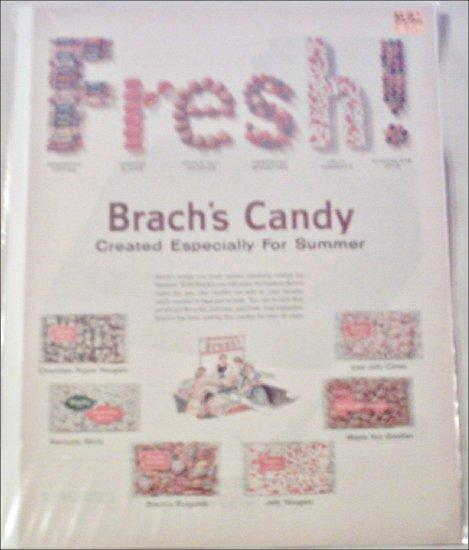 1960 Brachs Summer Candy ad