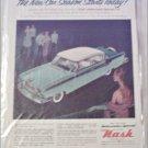 1956 American Motors Ambassador Special 4 dr sedan car ad